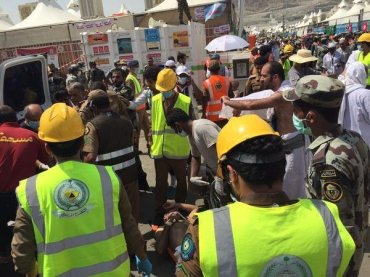 Hundreds Killed in stampede kills at Hajj pilgrimage near Mecca