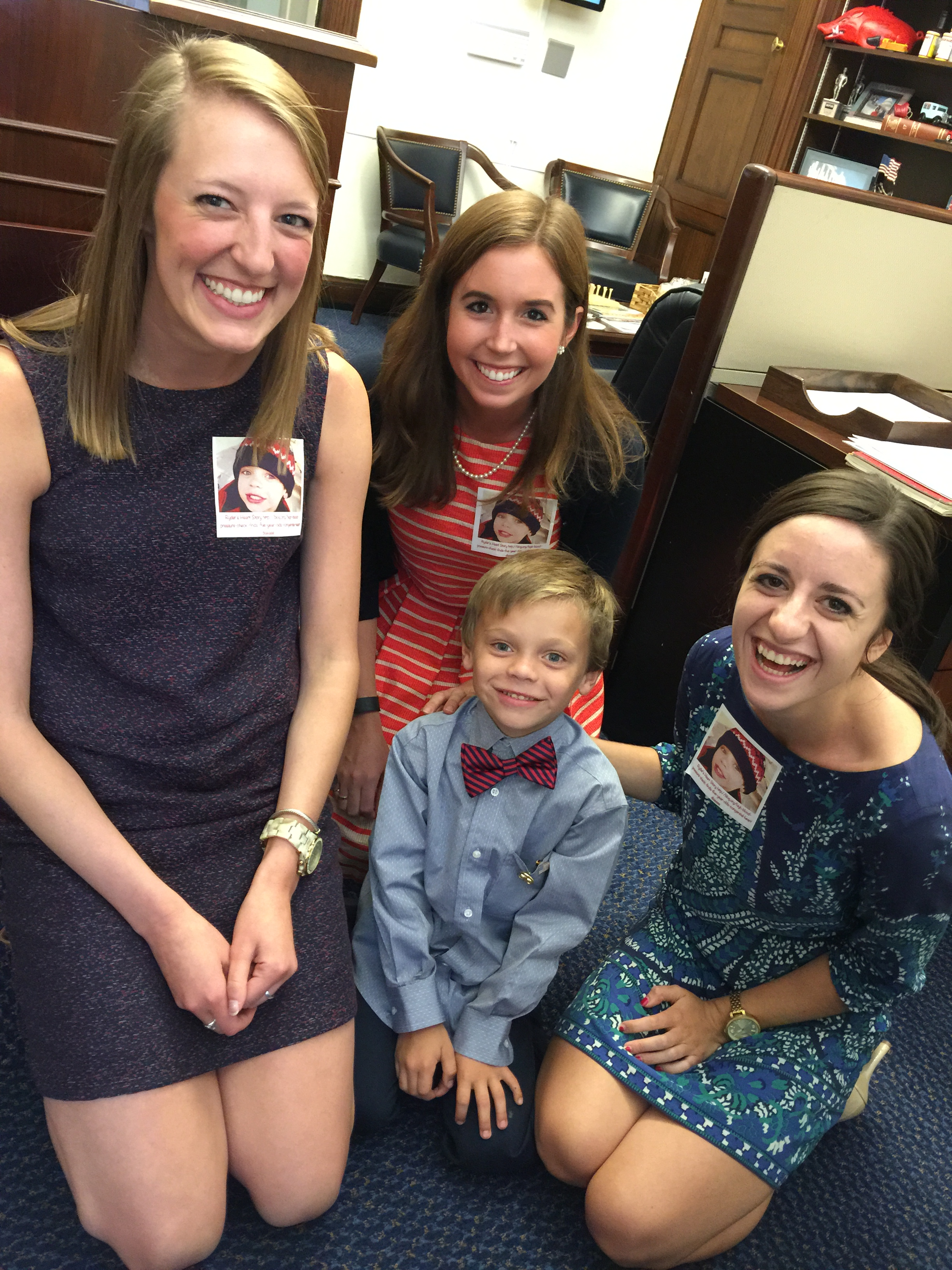Ryder Roark with Rep. Steve Womack's Staff.