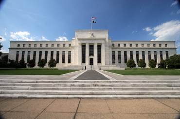 Five central banks, including teh Federal Reserve, announced a coordinated plan Thursday, Spetmeber 15, 2011 to pump dollars into Europe's financial system in an effort to boost liquidity across the eurozone.  File - exteriors, daytime, summer, flags (graphics project)