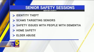 senior safety sessions