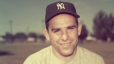 Yogi Berra Courtesy of Getty