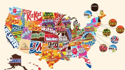 skittles ranked top halloween candy for arkansas - Halloween Stores In Fayetteville Ar