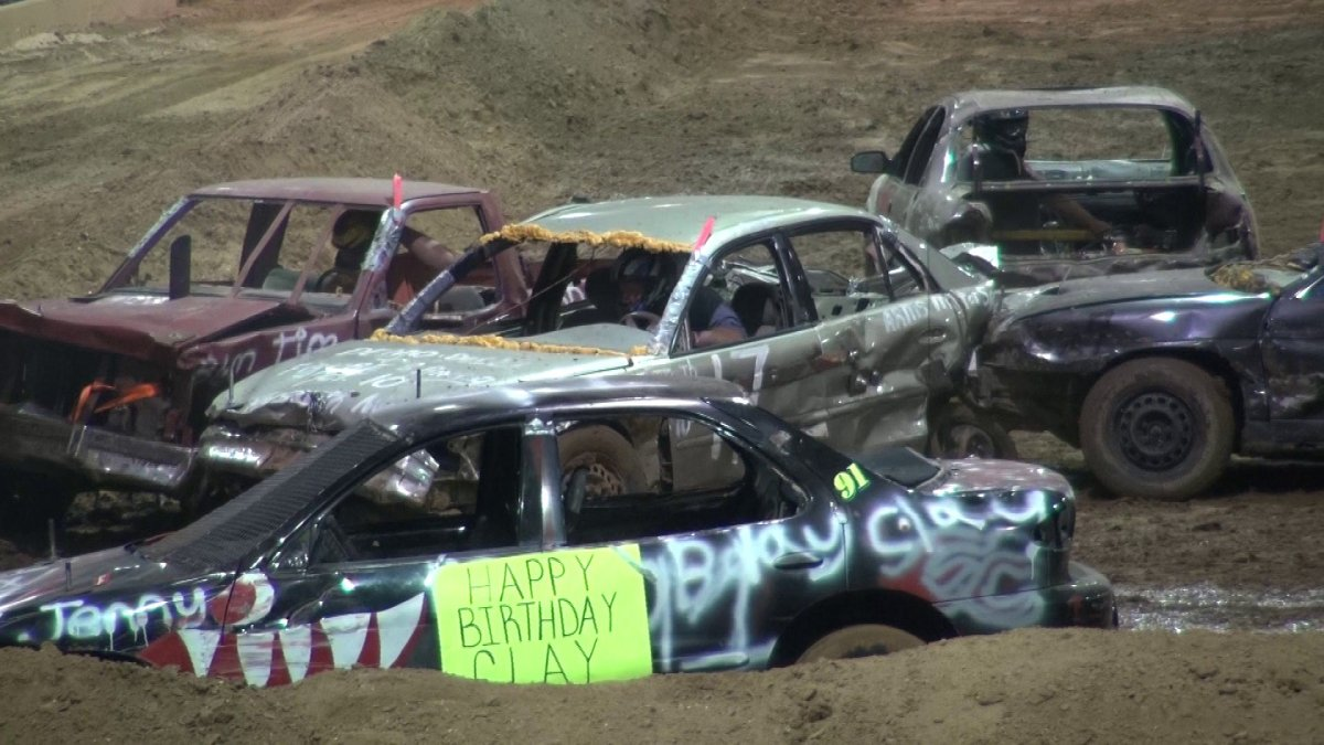 famous street outlaw participates in demolition derby fort smith fayetteville news. Black Bedroom Furniture Sets. Home Design Ideas