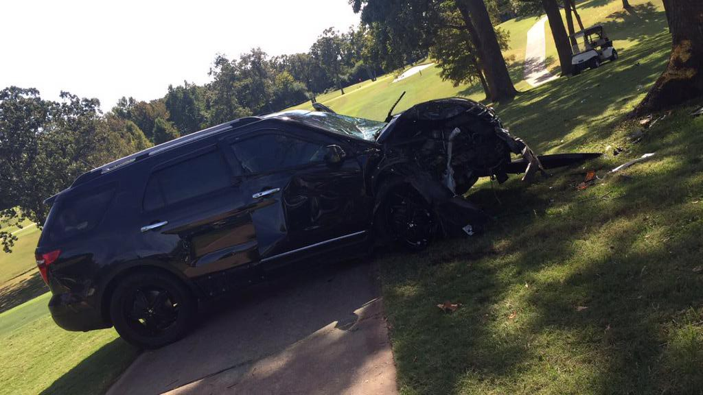 Crash at Hardscrabble Country Club