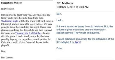 Cubs Pleas