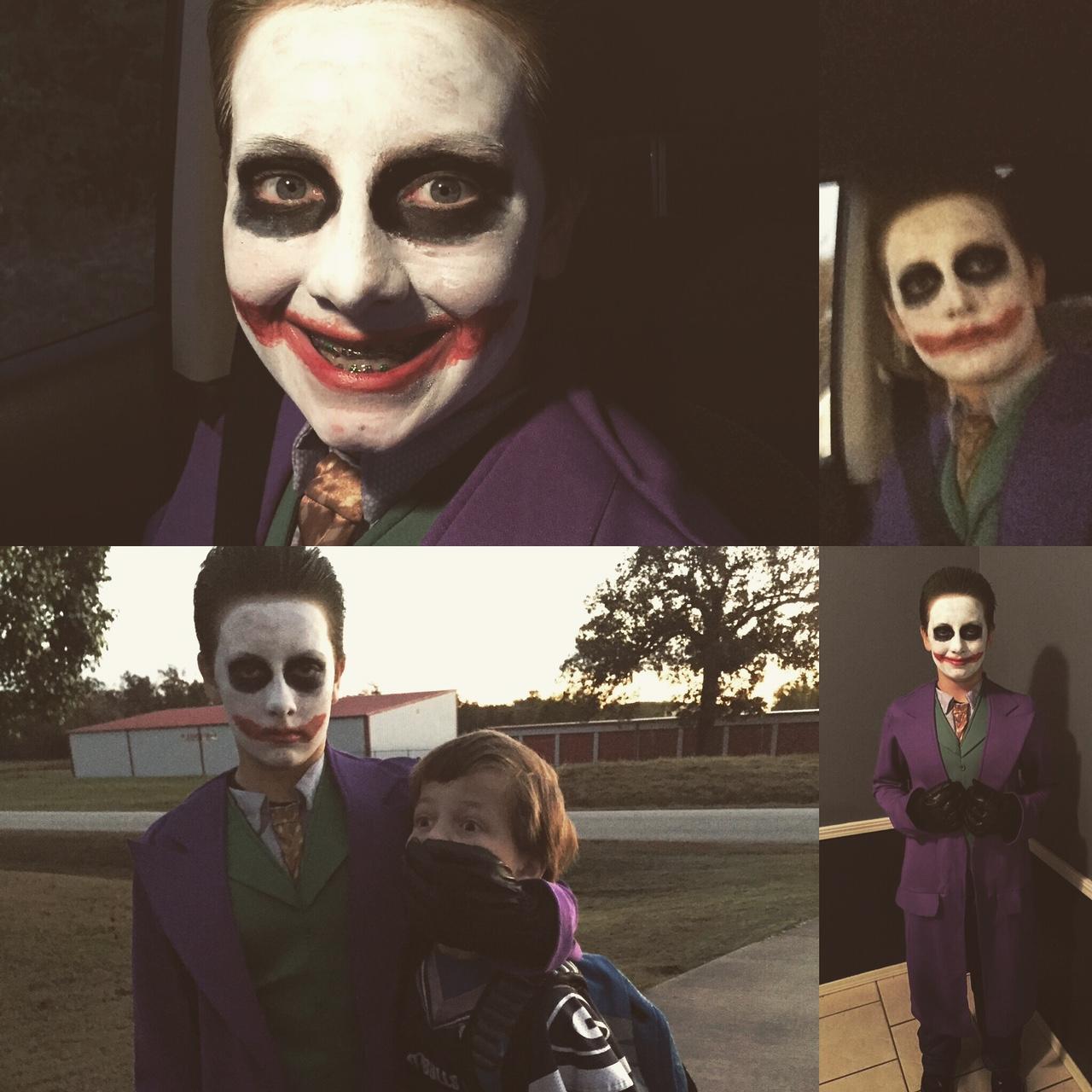 Caleb Niles as the Joker
