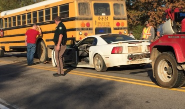 mansfield school bus accident