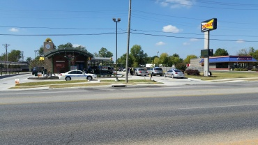 pedestrian hit in springdale