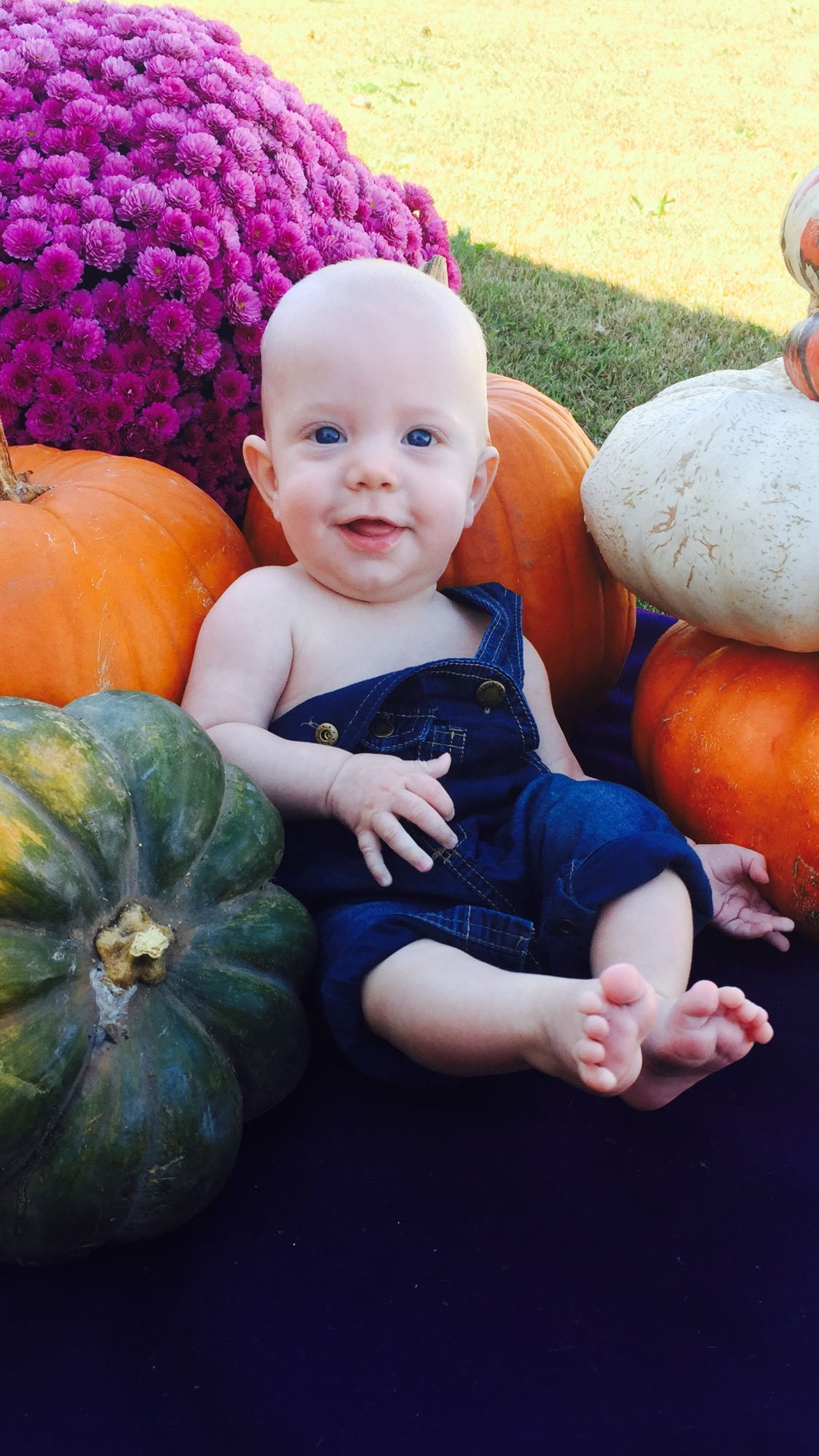 Baby Reed Rainwater, 5 months old from Elkins, AR.