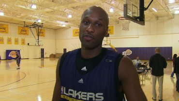 Lamar Odom, who won two NBA championships while a forward for the Los Angeles Lakers, has been hospitalized in Las Vegas, the Nye County Sheriff's Office announced.
