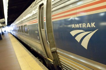 Amtrak Signage