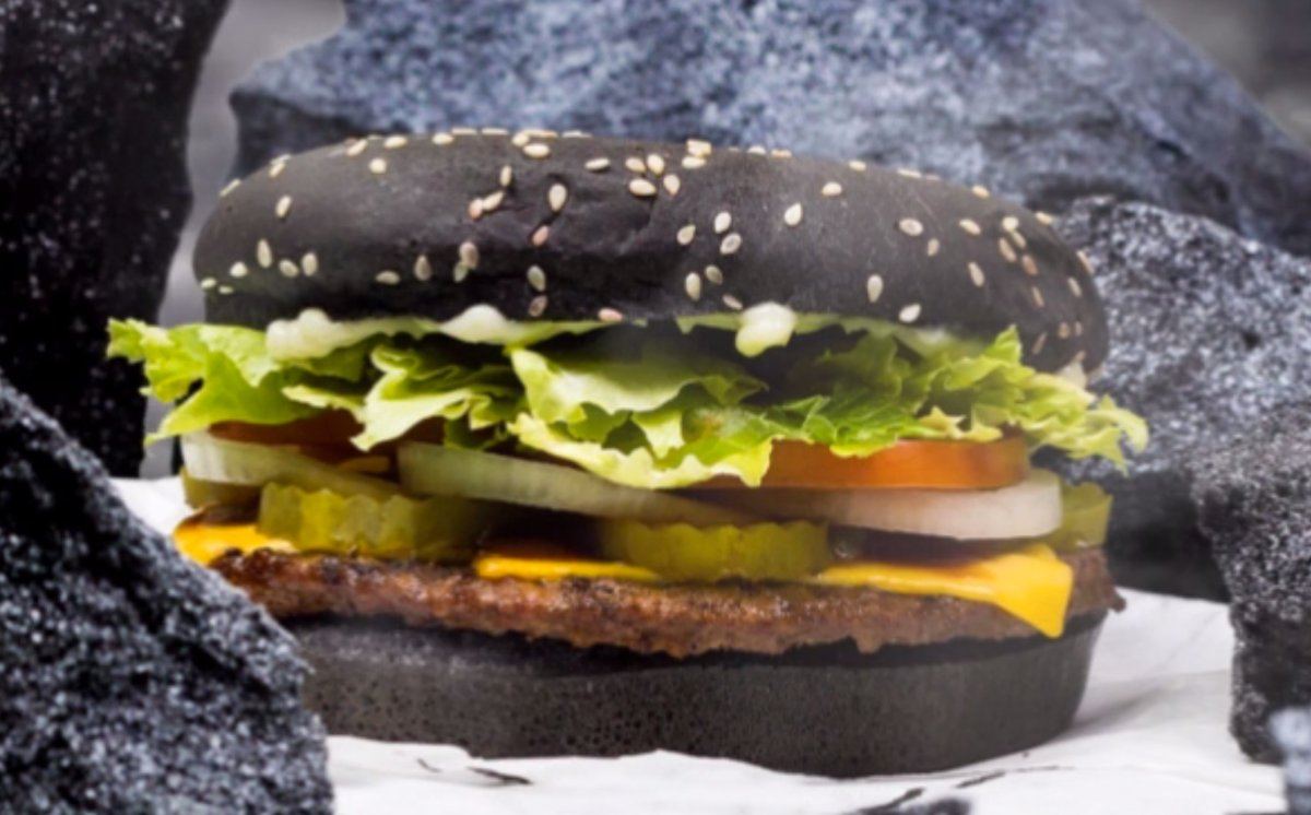 Black Burger, Green Poop: Why Halloween Whopper Has Odd Effect ...