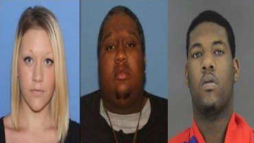 Tipton, Slaughter, Releford. COURTESY: Fort Smith Police
