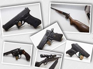 Guns auction