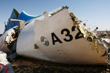 Credit: Russian Emergency Situations Ministry  Metrojet A321 fuselage fragment