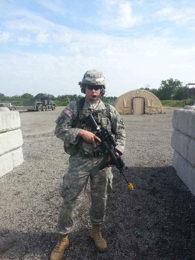 Sergeant Nicholas Johnson, Served in Afghanistan