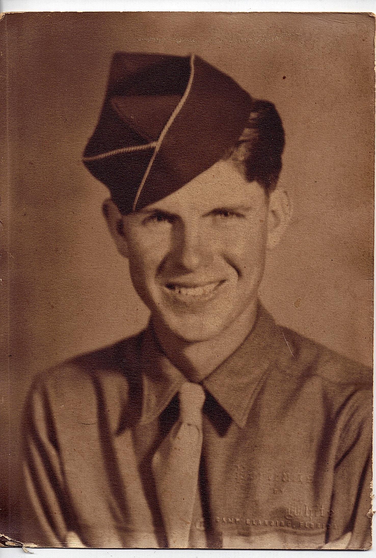 Staff Sergeant Raymond Johnson, Earned Silver Star fighting in WW II