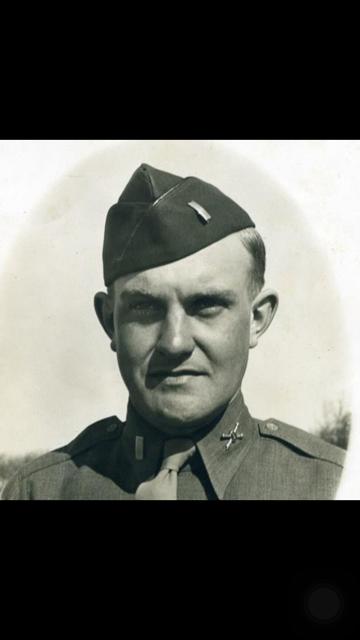 Captain William James Peycke Jr., Army, WW II