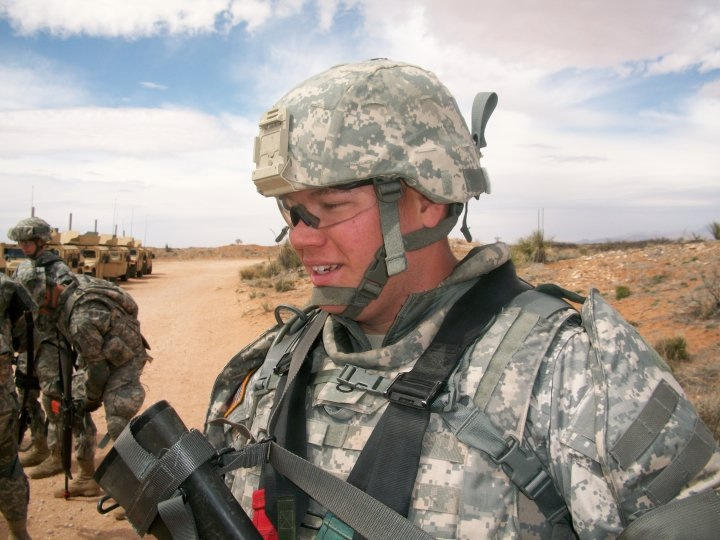 Specialist Byron Stival, Army Reserve, Deployed in Afghanistan in 2010
