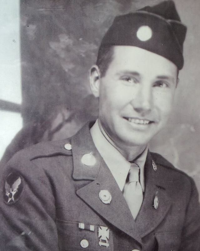 Corporal Joe L. Tamplin, United States Army Air Corp. in WWII, 20th Army Air Corp.