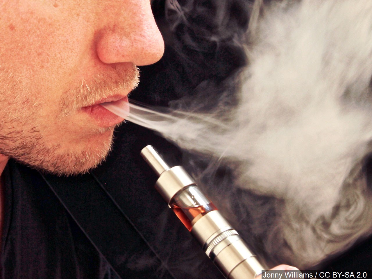 Health warnings on e cigarettes