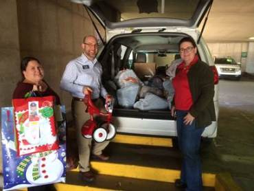 Arvest Salvation Army donation