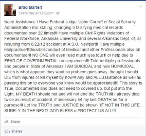 ASU Gunman Facebook post