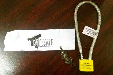 Gun Lock Giveaway
