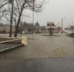 Photo: Flooding around Lavaca City Hall on Hwy 255/Hwy96