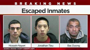 Escaped CA Inmates