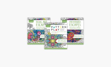 Adult coloring is a trend, in case you didn't know, so Crayola just released five new coloring books just for adults.
