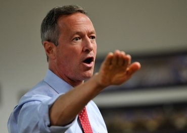 Embargoed to Las Vegas, NV  Democratic presidential hopeful Martin O'Malley spoke at a town hall  at the SEIU Local 1107 headquarters in Las Vegas, Nevada about his run for the Democratic nomination.