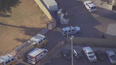 Glendale police are investigating a double shooting at Independence High School near Glendale, AZ.