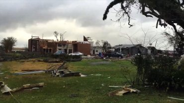 The Assumption Parish Sheriff's Office reported severe damage to businesses in Paincourtville and damage to a home in Belle River. There were no immediate reports of injuries, Deputy Robert Martin said, after two tornadoes reportedly moved through.