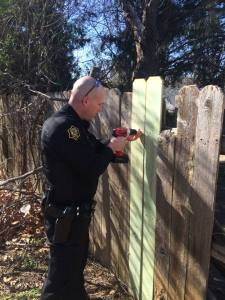 Springdale Officer Fence 21