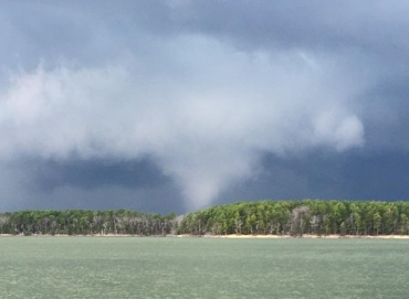 lake ouchita tornado