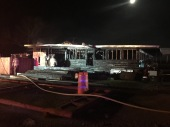 Pocola Structure Fire