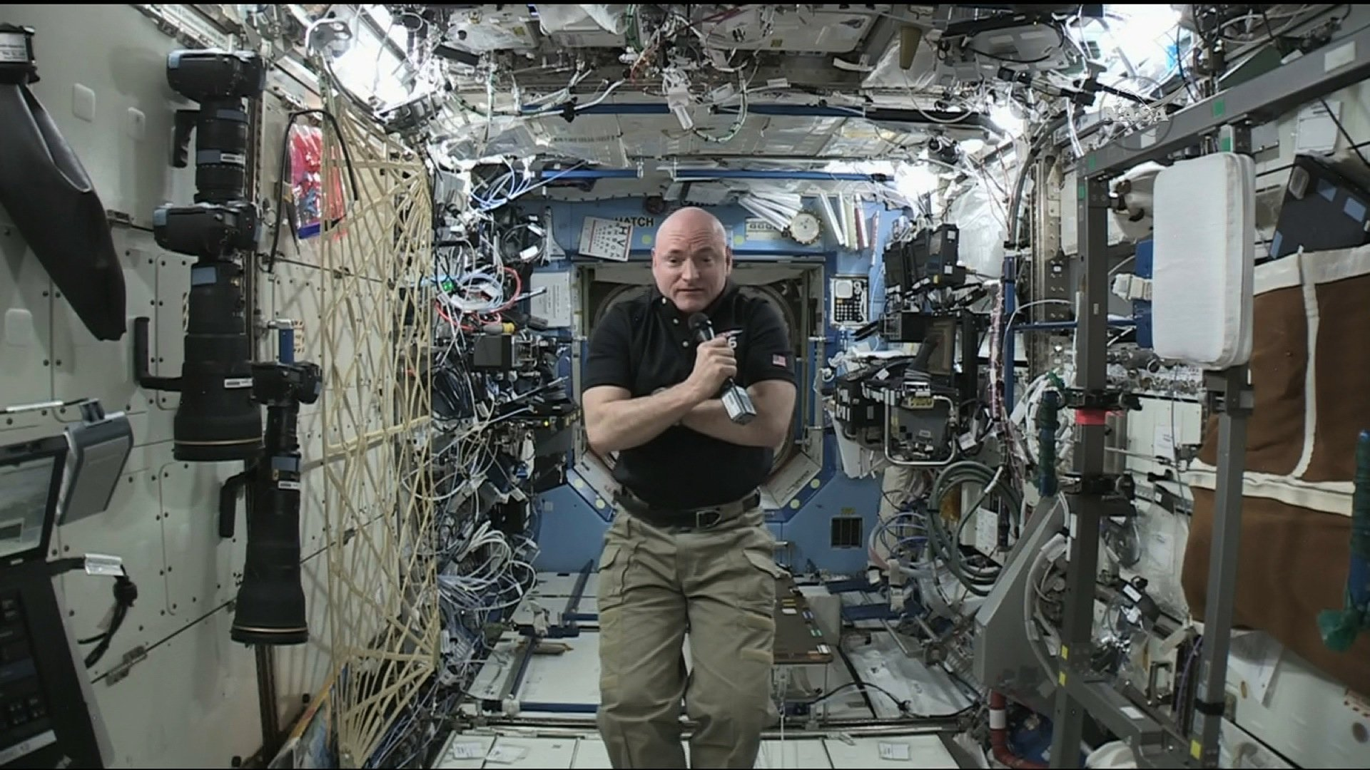 NASA astronaut Scott Kelly is due to be back on Earth. Kelly has completed a nearly yearlong mission on the International Space Station, the longest any U.S. astronaut has been in space. He's set to come home on Tuesday, riding back to Earth on a Russian Soyuz spacecraft.