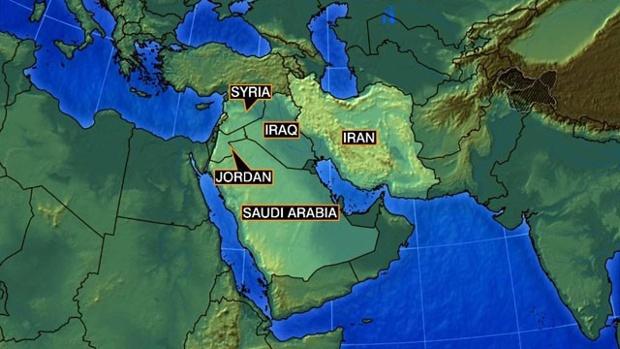 Syria--Iraq--Iran--Jordan--Saudi-Arabia-map-jpg