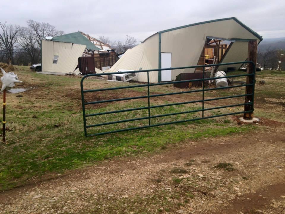 Evansville; Photo courtesy of Washington County Sheriff's Department/WC Fire Marshal Dennis Ledbetter