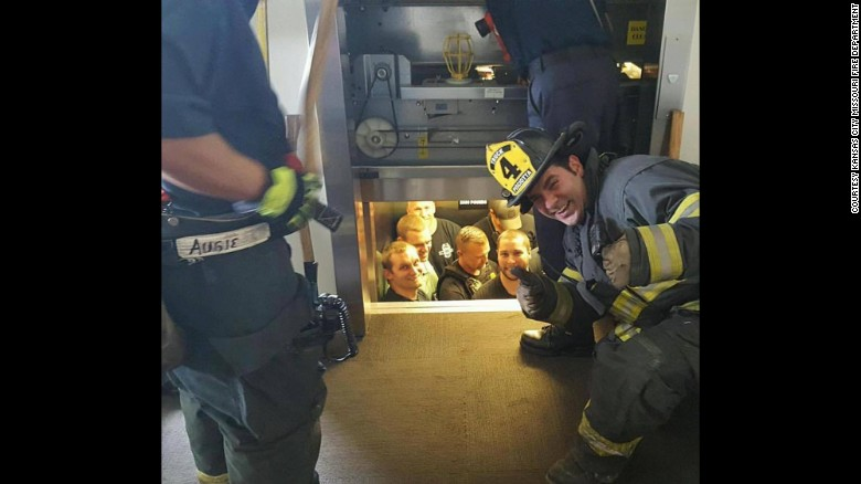 officers-get-stuck-in-elevator