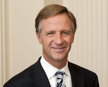 "Tennessee Gov. Bill Haslam on Wednesday signed a bill into law that allows therapists and counselors with ""sincerely held principles"" to reject gay, lesbian, transgender and other clients.  File- Gov. Bill Haslam, (R) Tennessee official portrait"