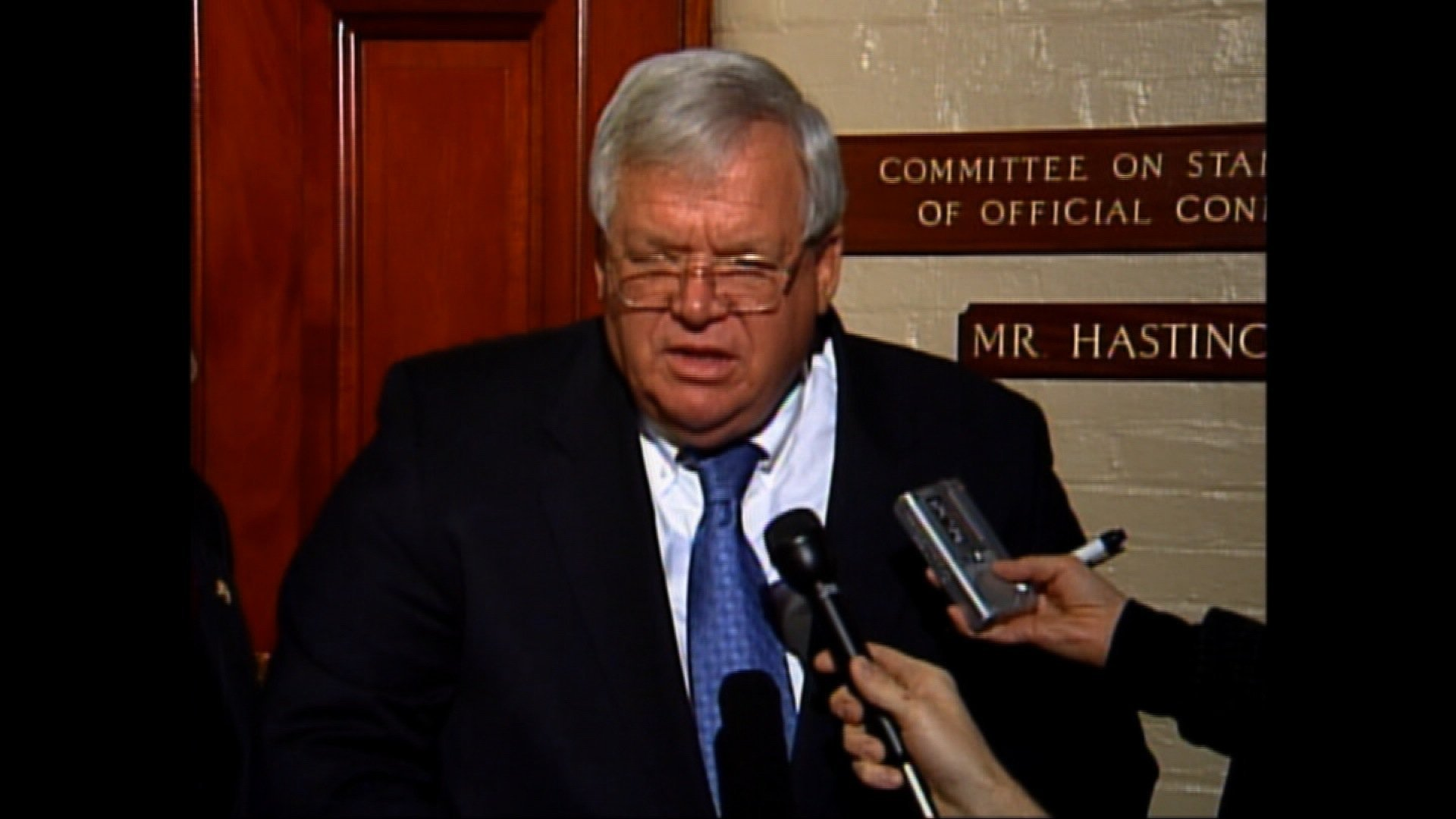 "A man who says former House Speaker Dennis Hastert sexually abused him has filed a lawsuit, seeking $1.8 million that the victim says was promised to him to cover up the abuse. The victim, identified by the complaint as ""James Doe,"" says Hastert breached a private settlement agreement for $3.5 million in exchange for the victim's silence. The complaint says Hastert paid $1.7 million from 2010-2014 until the FBI uncovered the transactions."