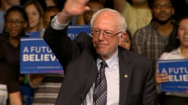 Bernie Sanders campaigns in Miami, FL on Super Tuesday #2.