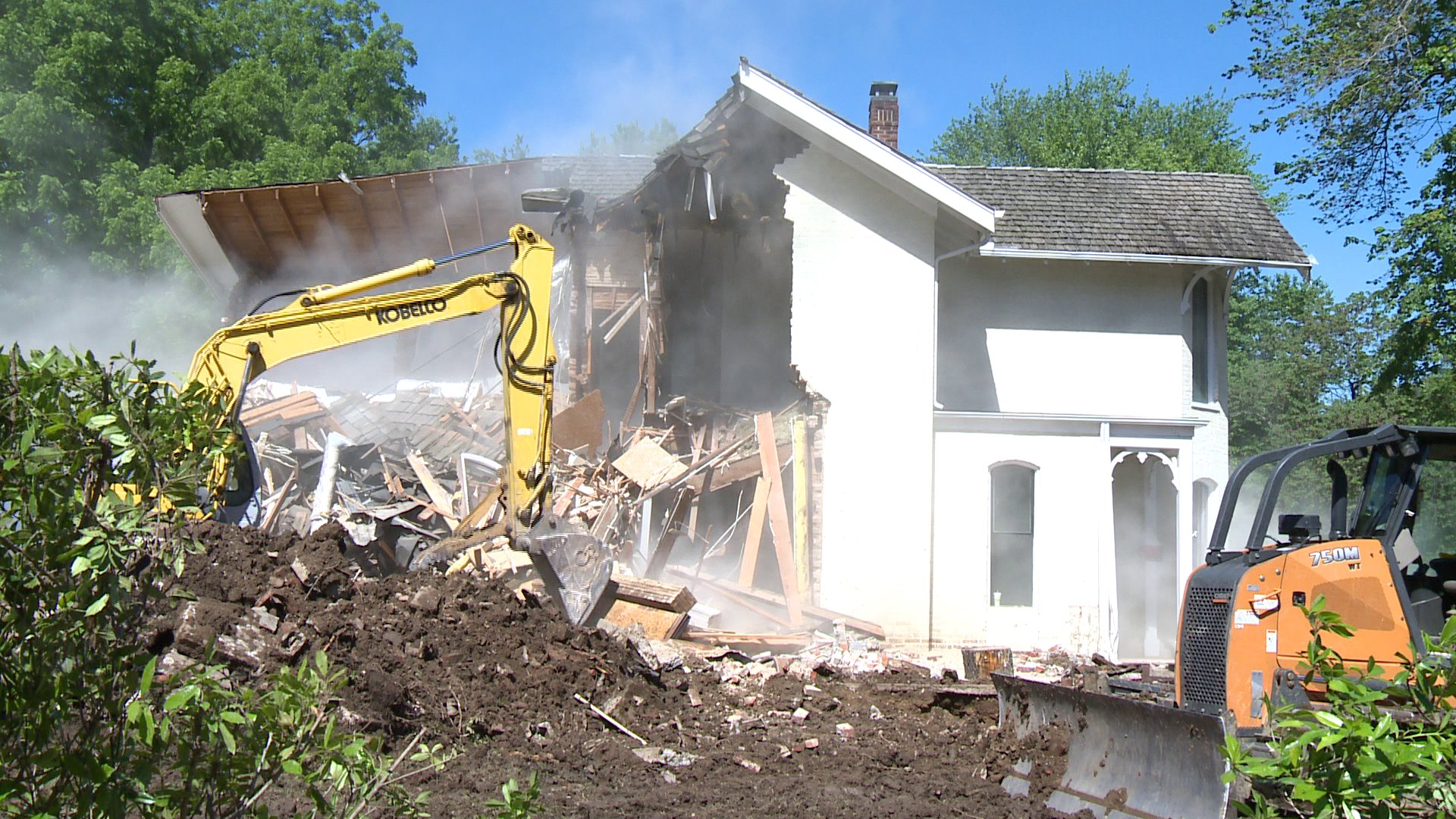 bentonville homes demolished