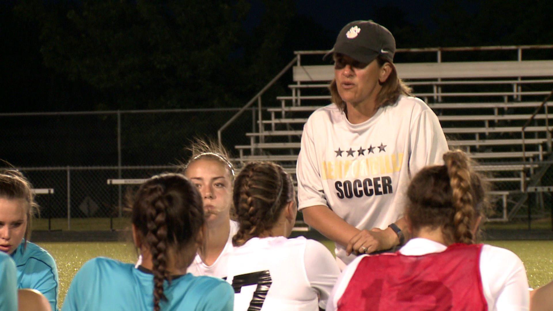Kris Henry Bentonville girls soccer