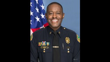 Delrish Moss is a new police chief in a department facing not-so-new problems.