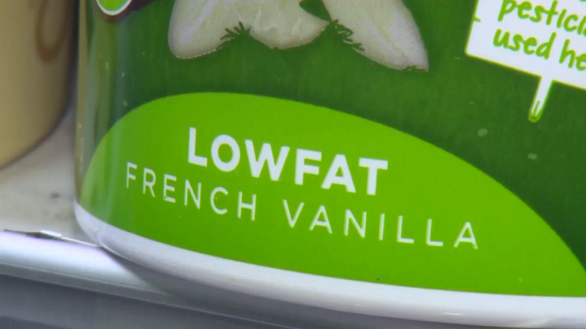 Lowfat Health Food Yogurt