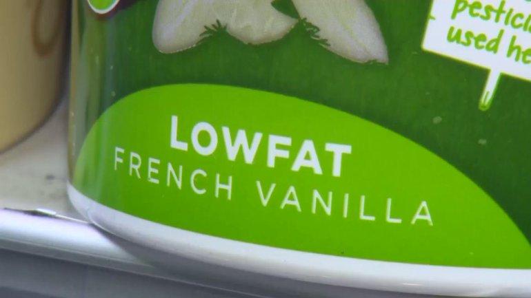 Lowfat Health Food Yogurt