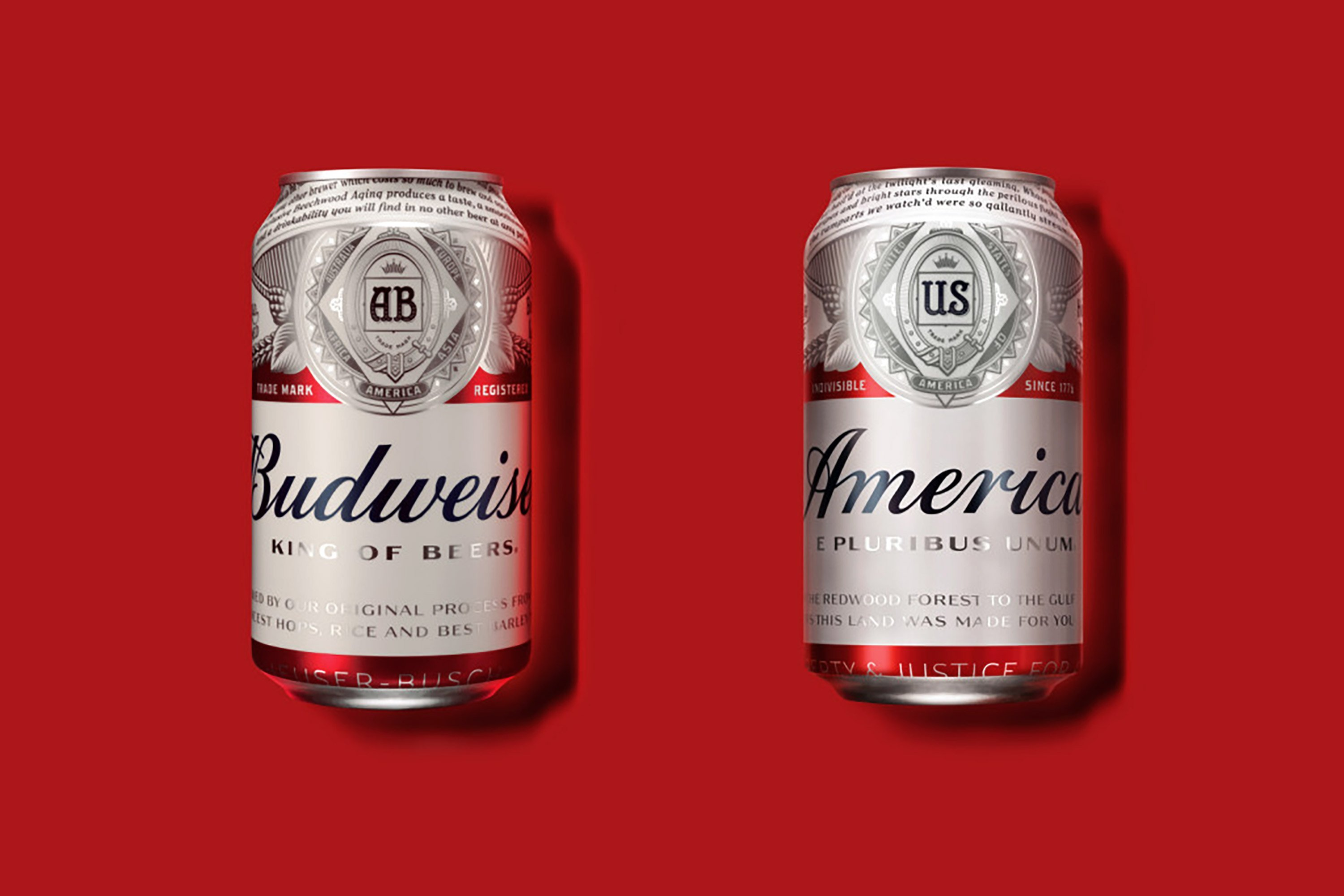 Anheuser-Busch is renaming Budweiser, its most famous brand, as America.